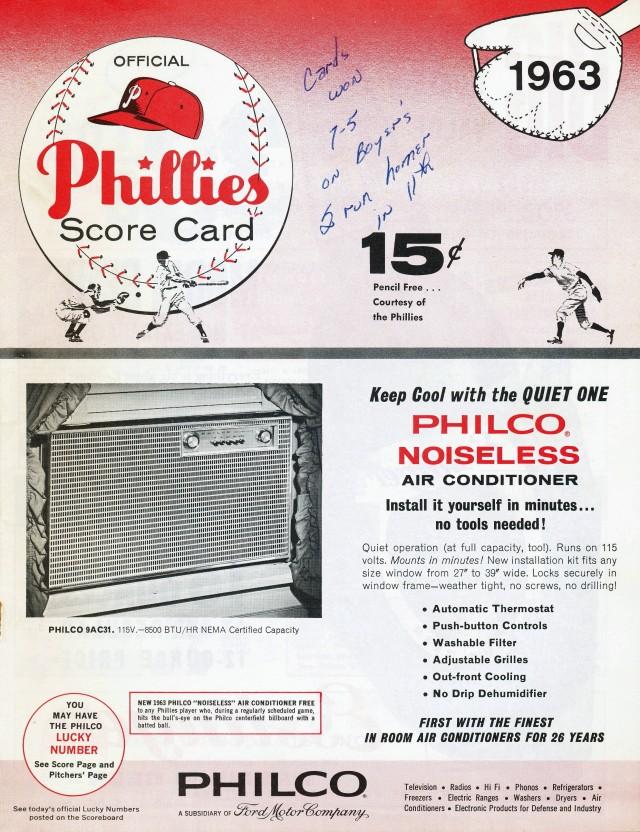 philliesprogram'63