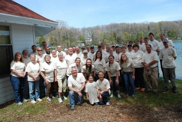 Camp Brosius Volunteers Spring 2013