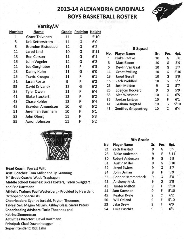 Copy of boys' basketball '13-14