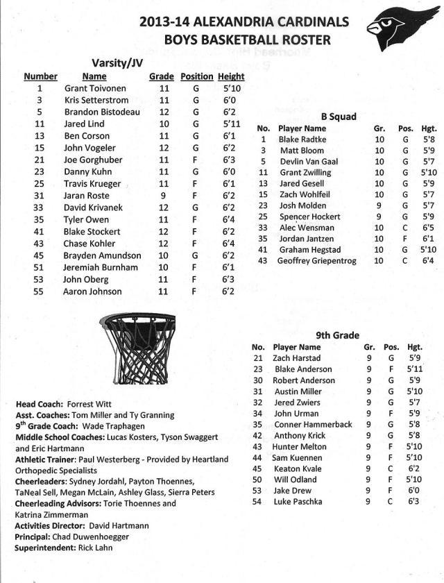 Copy of boys' basketball '13-14