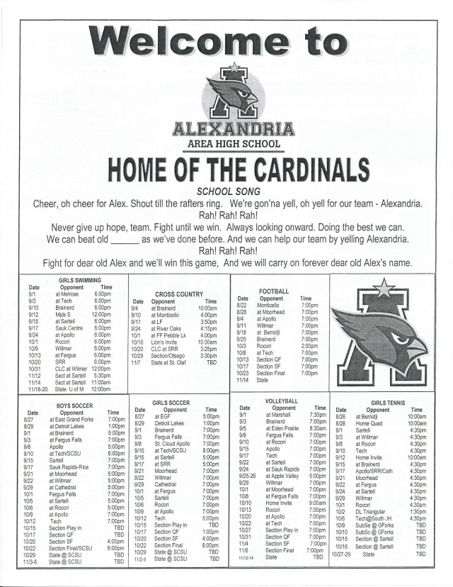 cards '15 fall schedule - Copy