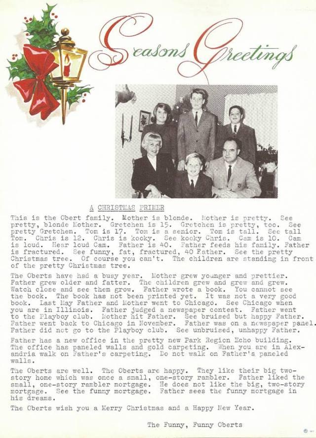 '64 christmas letter
