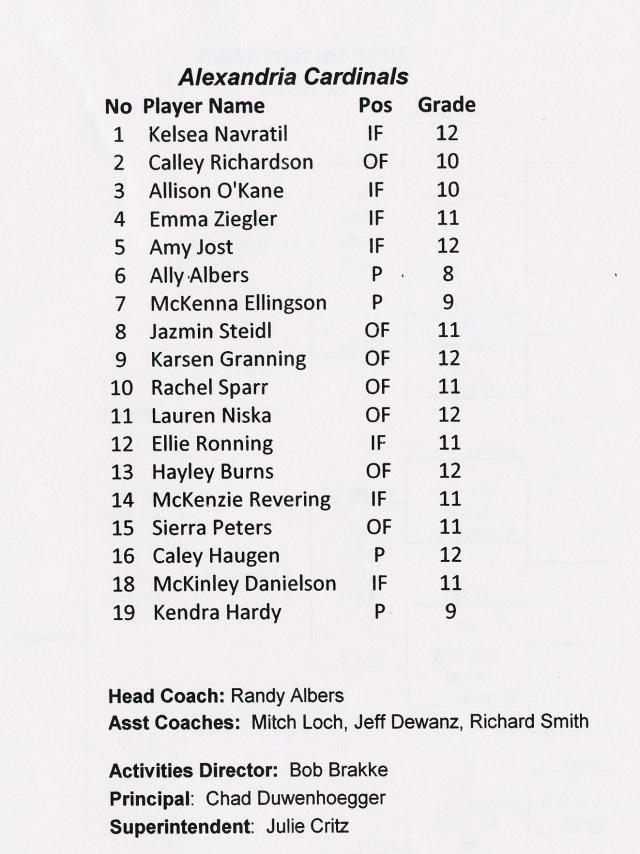 section softball '16-3 - Copy