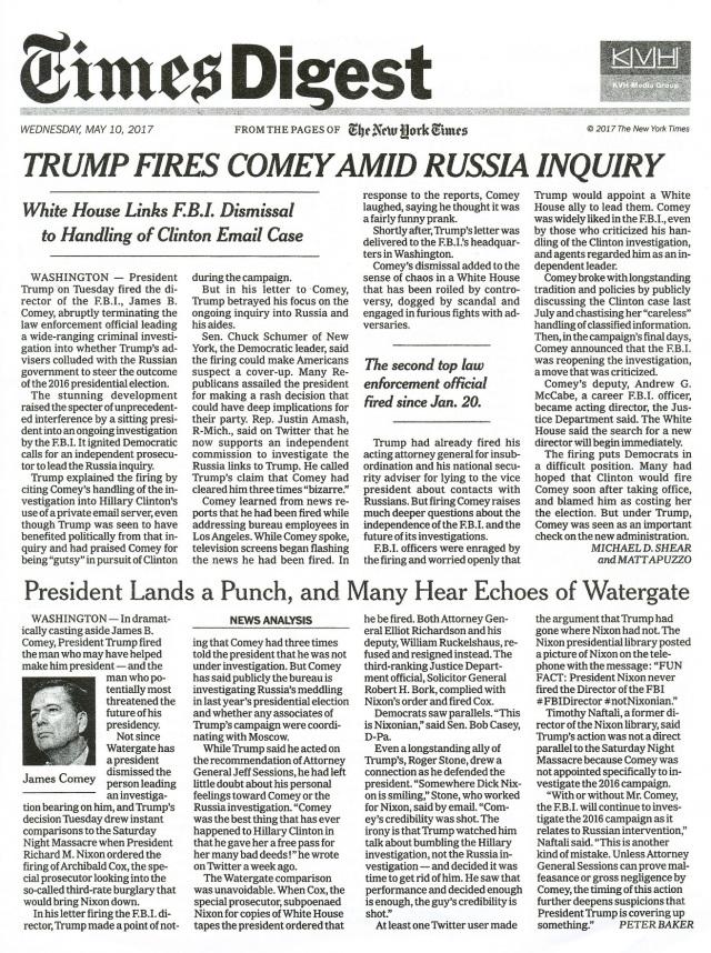 trump fires comey - Copy