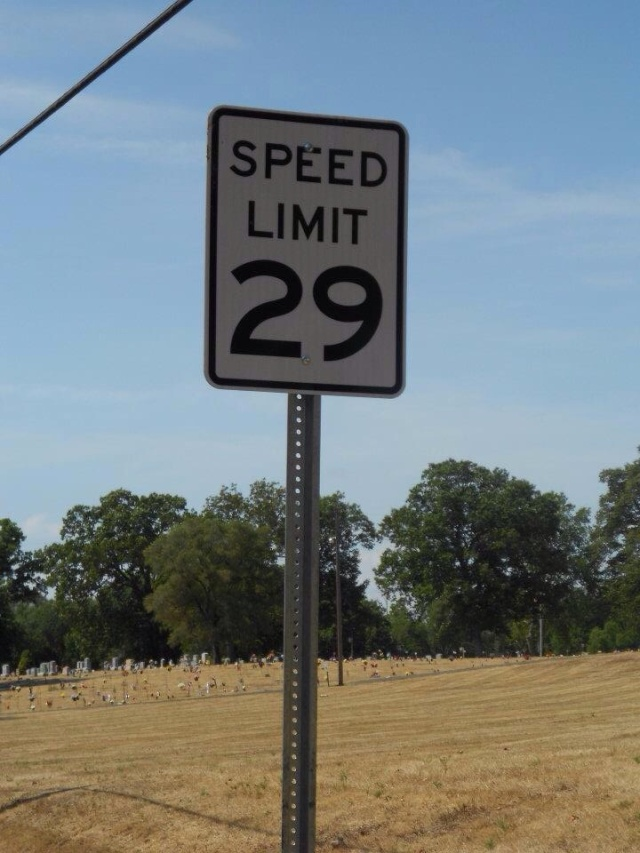 clinton indiana speed limit